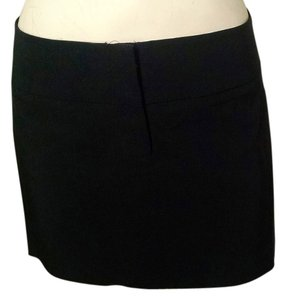 bebe Size 10 Above Knee Mini Skirt black
