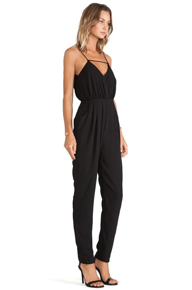 6335e6c102ea Finders Keepers Black Someday Crepe Romper Jumpsuit - Tradesy
