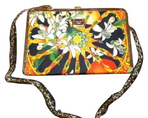 Dolce&Gabbana Dolce & Gabbana Orange Blossom Wagon Wheel Cart Shoulder Bag