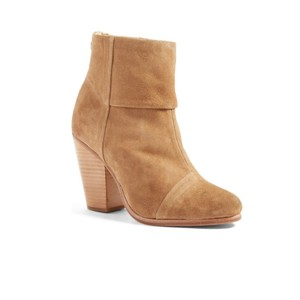 Rag & Bone Italian Suede Ankle Leather camel Boots