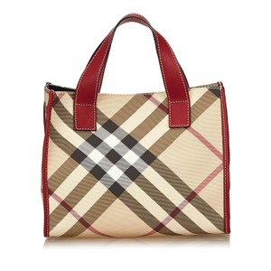 Burberry 7dbuto002 Tote in Brown