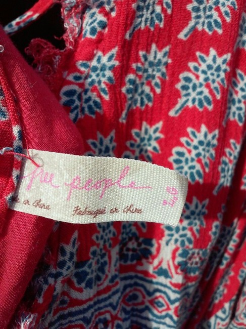 Free People short dress Red Multi on Tradesy Image 1