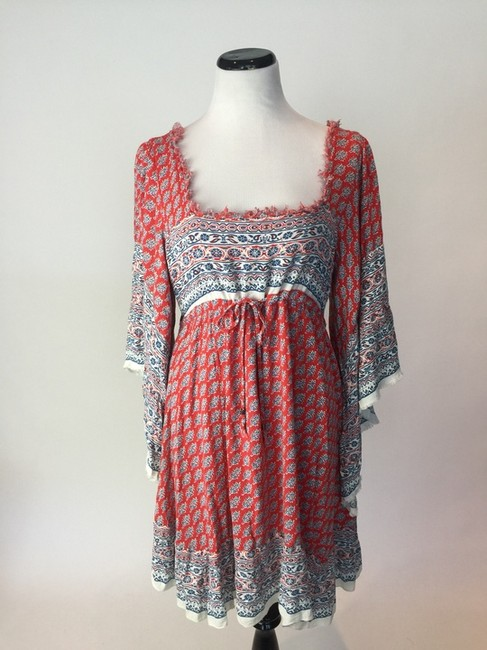 Free People short dress Red Multi on Tradesy Image 3