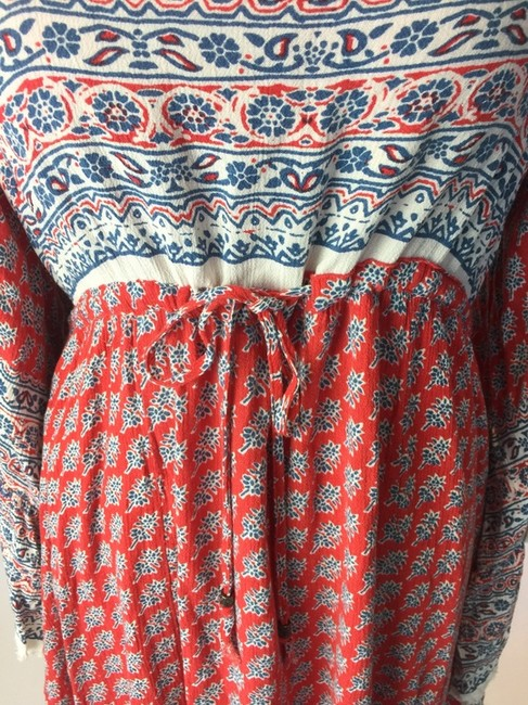 Free People short dress Red Multi on Tradesy Image 4