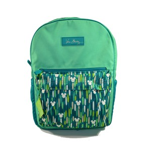 vera bradley pink and green backpack