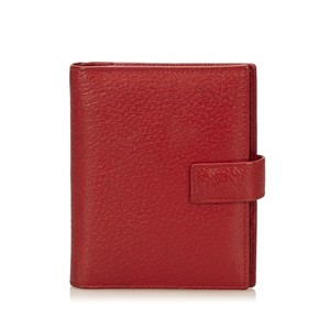 Gucci Gucci Textured Leather Notebook Cover