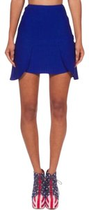 Rehab Mini Skirt Blue