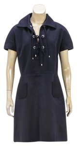 Dior short dress Navy Blue on Tradesy