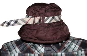 Burberry BURBERRY Quilted lined Nova Check Hat SIZE 58/Small