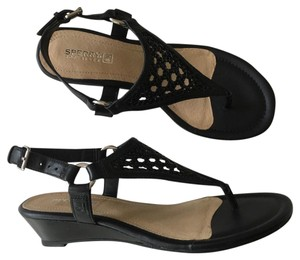 Sperry Leather black Sandals