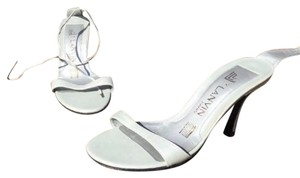 Lanvin light grey/ muted silver Sandals