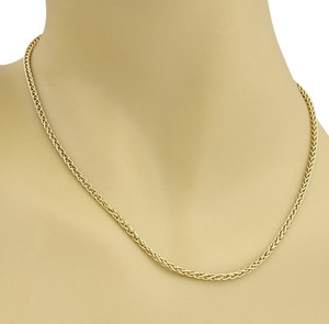 Tiffany & Co. #20148 Tiffany & Co. 18k Yellow Gold Woven Link Chain Necklace
