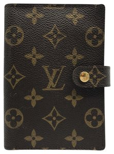 Louis Vuitton monogram agenda small pm ring cover day planner