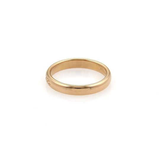 Tiffany & Co. Notes 18k Rose Gold 3mm Wide Dome Band Ring Image 1
