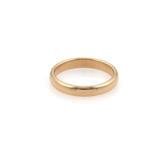 Tiffany & Co. Notes 18k Rose Gold 3mm Wide Dome Band Ring Image 2