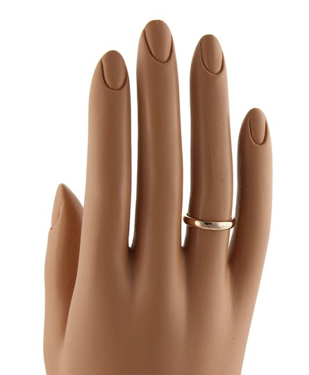 Tiffany & Co. Notes 18k Rose Gold 3mm Wide Dome Band Ring Image 3