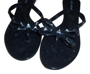 Not Rated Black Sandals