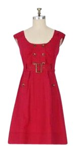 Anthropologie short dress Berry on Tradesy