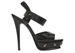 YSL Saint Laurent Yves Black Pumps