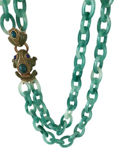 J.Crew Frog Clasp Necklace