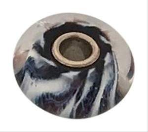 Trollbeads Blue and White Glass Bead
