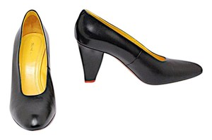 Céline Marcella Sweet Petal Black Pumps