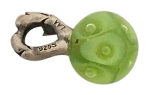 Trollbeads Silver and Glass Spring Bead
