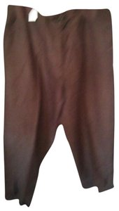 Ashley Stewart Capris Brown