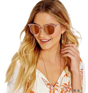 Michael Kors NEW Pink & Rose Gold Adriana Sunglasses