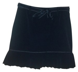 35th & 10th Mini Skirt Black