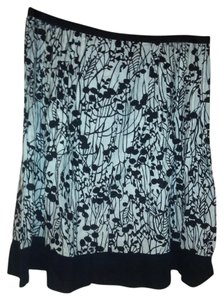 George Skirt Black and white