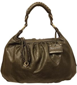 Juicy Couture Refurbished Leather Extra-large Euc Hobo Bag
