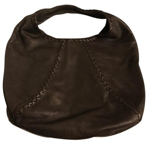 Bottega Veneta Signature Classic Leather Soft Piping Hobo Bag