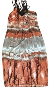 Arden B. short dress taupe/brown on Tradesy