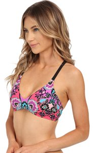 Nanette Lepore Nanette Lepore Bali Batik Heartbreaker bikini top and bottom sz M