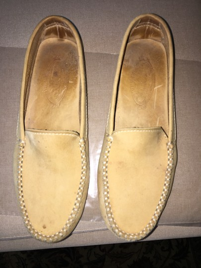 Tod's Pre Owned Conditions Spotted Suede Taupe Flats Image 4
