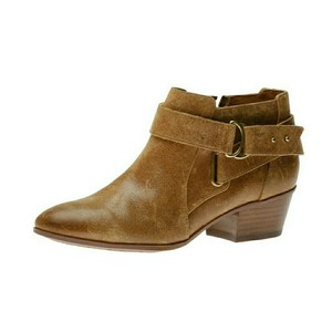 Clarks Ankle Spye Belle Distressed Tan Boots