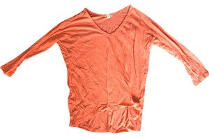 Gap Comforable Quarter-sleeve T Shirt coral