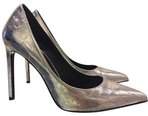 Saint Laurent silver Pumps