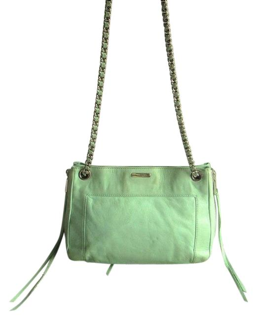 "Item - Soft ""Swing"" Pale Green Leather Shoulder Bag"