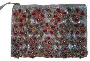 Anthropologie Beaded Summer Essentials Accessories Clutch