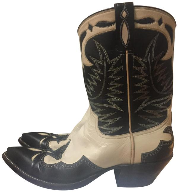 Item - Cream and Signed By Tyler Beard. Teresa Style; Tyler Beard Collection Boots/Booties Size US 8.5 Regular (M, B)