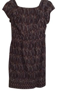 DownEast Basics short dress Black, brown, and white on Tradesy