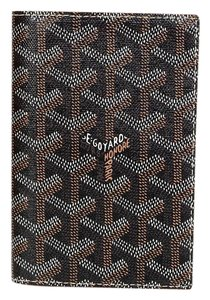 Goyard Goyard Black Grenelle Passport Holder