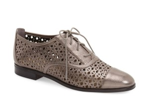 Michael Kors Mk Oxford Gift Ideas Gunmetal Flats
