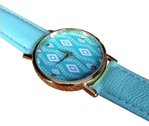 Mint Green Aztec Watch