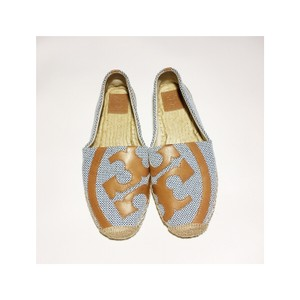 Tory Burch Blue Brown Sandals