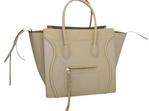 Cline Phantom Handbag Travel Tote in BEIGE / NUDE