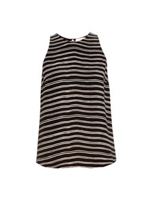 A.L.C. Top Black and White