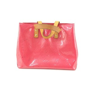 Louis Vuitton Satchel in Coral Pink/Red